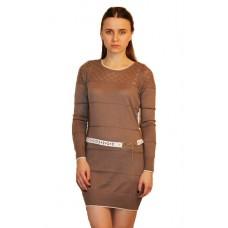 Женское вязаное платье 14839 оптом