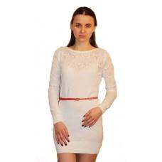 Женское вязаное платье 14727 оптом