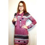 Женское вязаное платье 7059