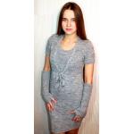 Женское вязаное платье 7220