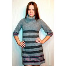 Женское вязаное платье 7806 оптом