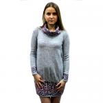 Женское вязаное платье 7088