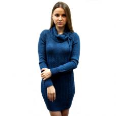 Женское вязаное платье 7114 оптом