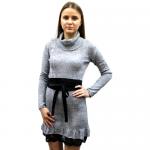 Женское вязаное платье 7288