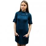 Женское вязаное платье 7884
